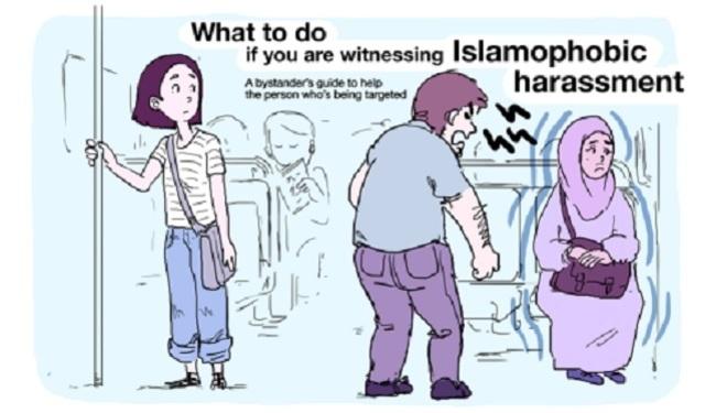 EDUKATIVNI STRIP: Što napraviti kada svjedočite islamofobiji