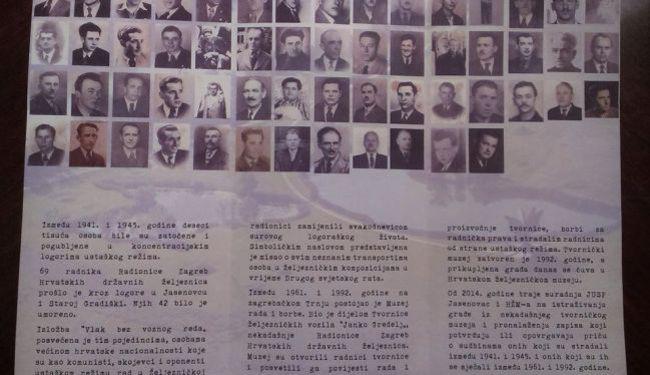 VLAK BEZ VOZNOG REDA: Izložba o stradanju željezničara u Drugom svjetskom ratu