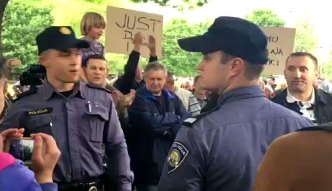 "NASILJE NA SAVICI (VIDEO): Zbog agresivnih ""zagovornika izgradnje parka"" intervenirala policija"