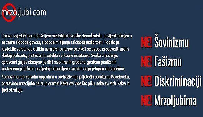 TALOG DRUŠTVA NA JEDNOM MJESTU: Mrzoljubi - stranica na kojoj možete prijaviti idiote s Facebooka