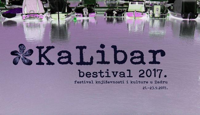 """FESTIVAL """"KALIBAR"""": Prvi zadarski festival književnosti, peti put"""