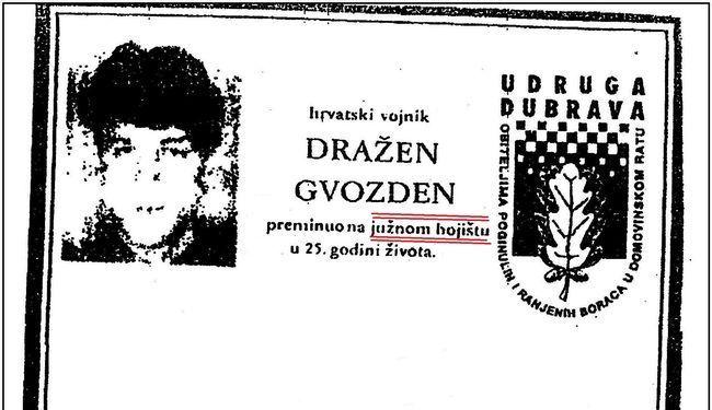 ZA KOGA JE UMRO HRVATSKI ČASNIK: U Mostaru ga ubio vojnik HVO-a, a spomen ploču mu digli u Novigradu