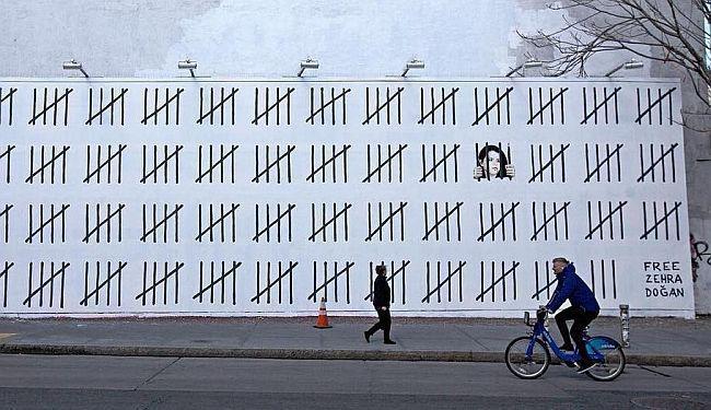 """BANKSY NACRTAO NOVI MURAL: """"Protestirajte protiv ove nepravde - tri godine zatvora zbog jedne jedine slike"""""""