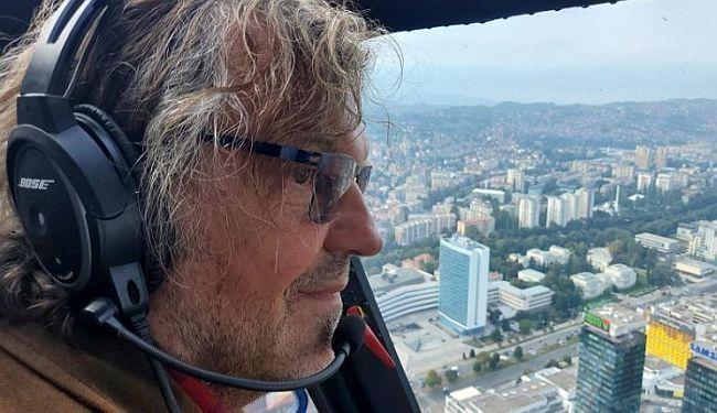 NEKA SE SVAKO NOSI SA SVOJIM DEMONIMA: Ozren Kebo o letu Emira Kusturice iznad Sarajeva