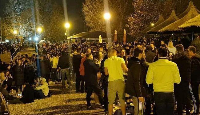 JARUNSKO DOBRO JUTRO: Gomila smeća nakon masovnog okupljanja mladih