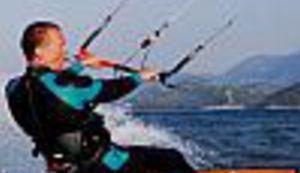 Ušće Neretve raj za kitesurfing