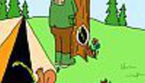 Karikatura na karikaturalnoj stranici