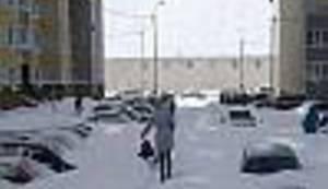 NEVJEROJATNE FOTOGRAFIJE: Evo što znači kada vas snijeg doslovce zatrpa