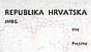 Hrvati ostaju bez JMBG-a
