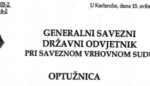 PREDSTAVLJAMO OPTUŽNICU PROTIV JOSIPA PERKOVIĆA: Svi detalji mračne obavještajne akcije Đurekovićeva ubojstva!