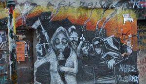 ANARHIJA ALL OVER EXARCHIA: Atenski grafiti i kratka povijest grčkih pobuna