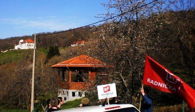 SVAKI TJEDAN TAJKUN JEDAN: Prosvjedom kod Todorića RF započeo antitajkunsku kampanju