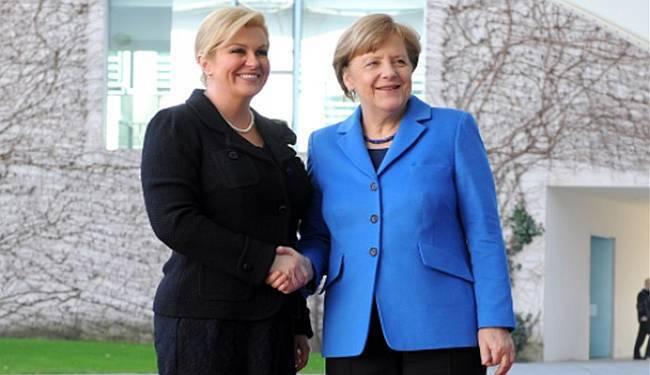 """ANTIFAŠISTIČKA LIGA PREDSJEDNICI GRABAR-KITAROVIĆ: """"Ugledajte se na Angelu Merkel"""""""