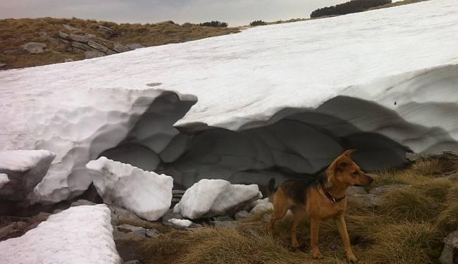 KO TO MOŽE PLATIT': Iako sunce prži i svibanj je, u pohodu na najviši vrh Velebita hodamo po nanosima snijega