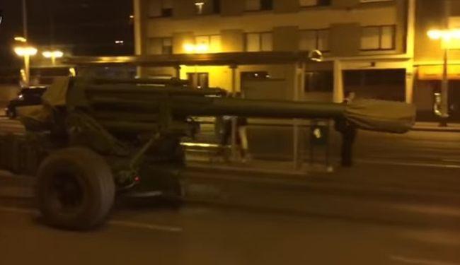 METROPOLA POD DUGIM CIJEVIMA: Ovako je izgledao probni zagrebački mimohod strojeva za ubijanje