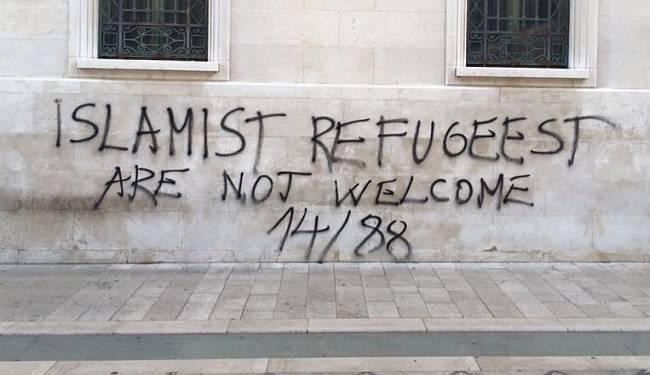 """MRŽNJA IZ """"NAŠIH"""" REDOVA: Sramotne poruke protiv izbjeglica u Splitu"""
