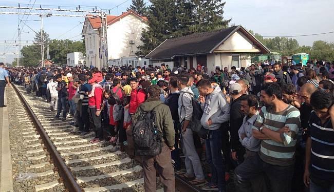 LUPIGA U TOVARNIKU: Više od 4.000 ljudi čeka prijevoz, iz Zagreba krenuli pješke prema Sloveniji