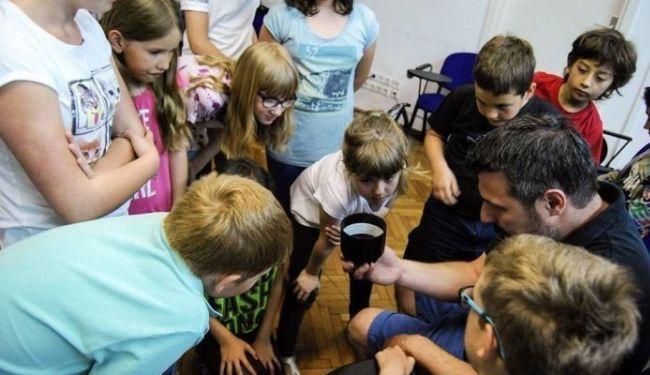 ZAGREBAČKI BACAČI SJENKI U SPLITU: Radionica za djecu