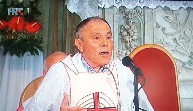 CRKVA I HRT ZA RUČAK SERVIRALI - USTAŠTVO: Proustaška propovjed s oltara Kolindi nije zasmetala