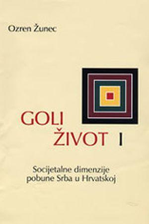 GOLI ŽIVOT: Valja nam na ovo staviti upitnik, kao i na sve što tišti odnose Hrvata i Srba
