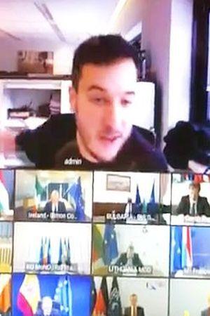 SMIJEŠNA RAZINA SIGURNOSTI: Novinar provalio na video konferenciju europskih ministara obrane