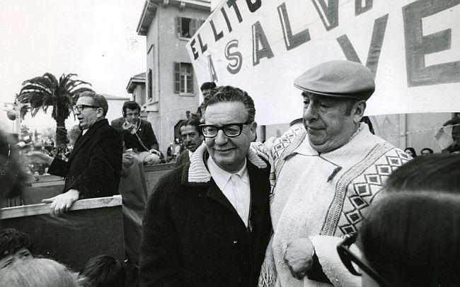 Salvador Allende Pablo Neruda