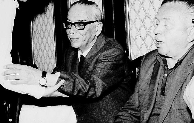 Ivo Andrić i Branko Ćopić