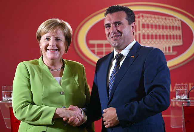 Angela Merkel i Zoran Zaev