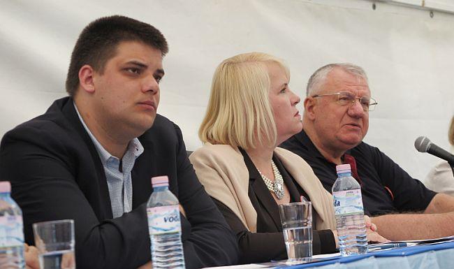 Vojislav Šešelj u Hrtkovcima