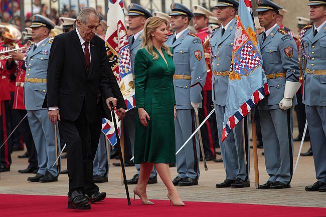 Miloš Zeman i Zuzana Caputova