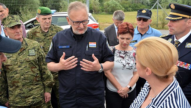 Davor Božinović - Kolinda Grabar Kitarović