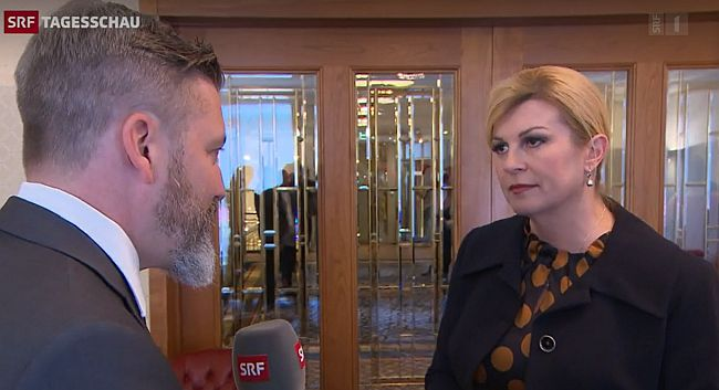 Georg Hässler i Kolinda Grabar Kitarović