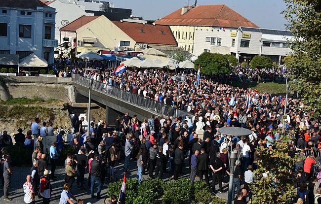 Vukovar prosvjed