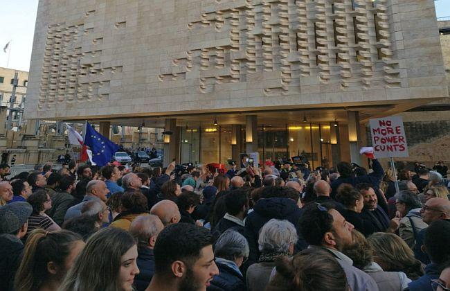 Malta prosvjedi