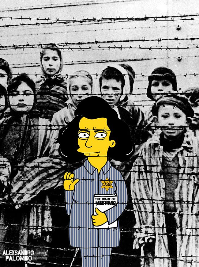 Anne Frank Alexsandro Palombo