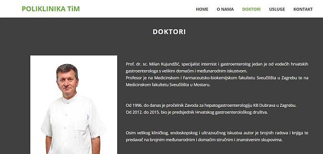 Poliklinika TIM - Milan Kujundžić