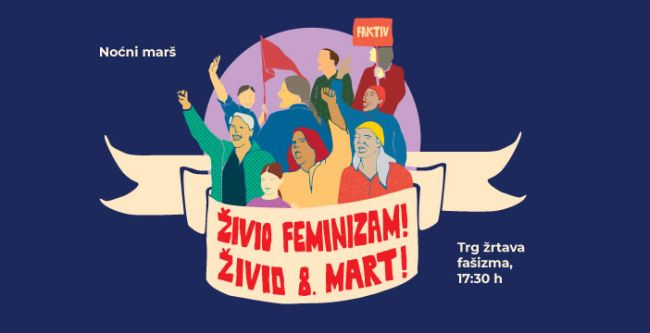 Noćni marš - Zagreb