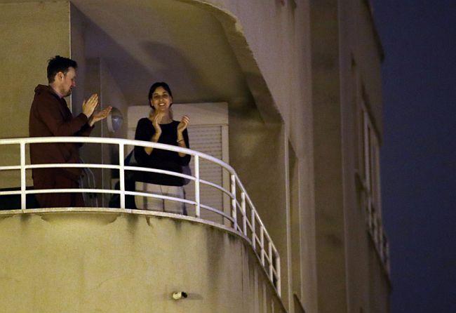 Pljesak s balkona