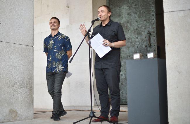 Bruno Isaković i Zvonimir Dobrović