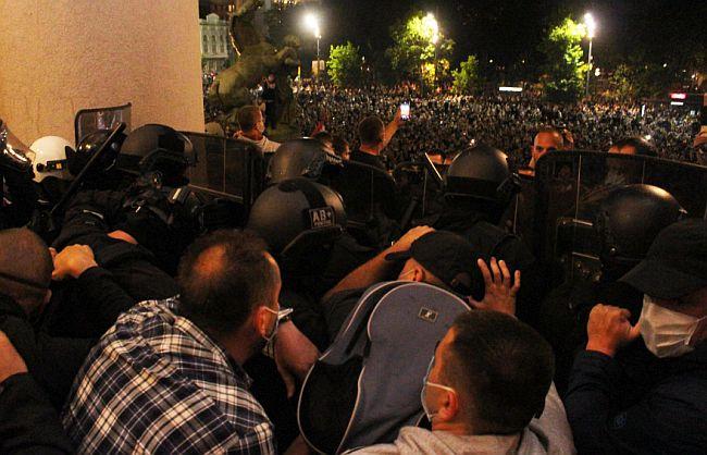 Policija protesti