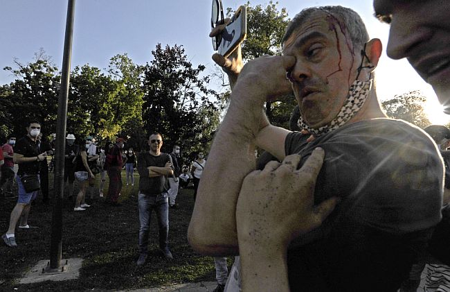 Sergej Trifunović - protesti