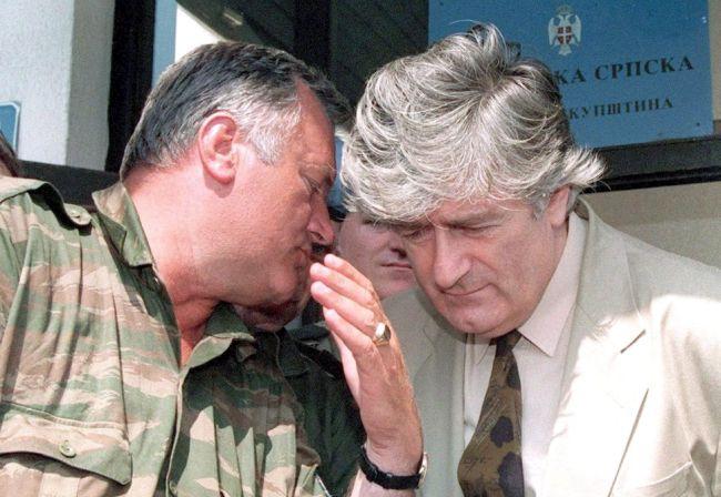 Ratko Mladić - Radovan Karadžić