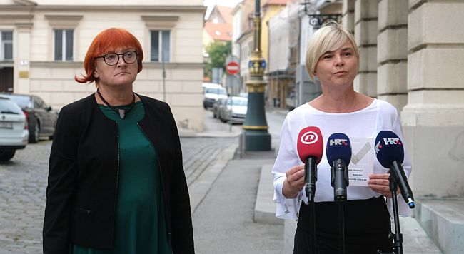 Rada Borić i Sandra Benčić