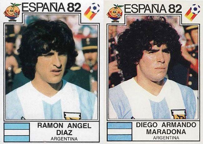 Panini Maradona 1982