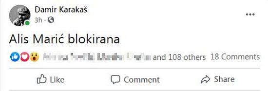 Alis Marić Facebook