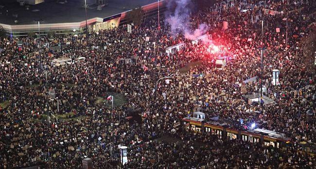 Poljska prosvjed