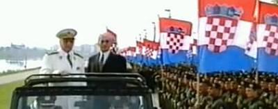 Franjo Tuđman Gojko Šušak