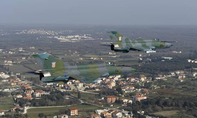 MiG 21 Hrvatska