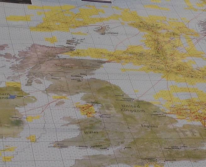 karta naftnih nalazišta