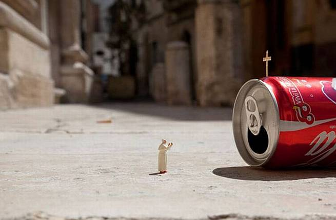 Pope Coca Cola
